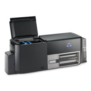 Straight On DTC5500LMX right angle lid open web 1 300x300 - Fargo Card Printers - Our trusted brand