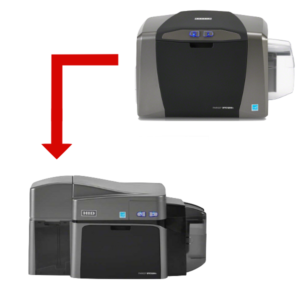 New card printer for old one