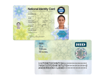 National ID card 2