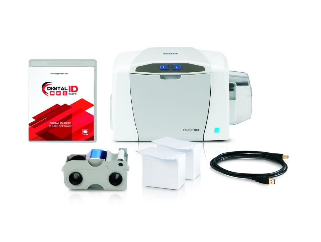 C50 Preconfig System pkg02 copy 1024x773 - HID FARGO C50 ID Card Printer