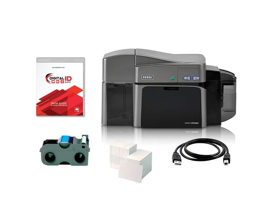 DTC1250e1 - HID FARGO DTC1250e ID Card Printer