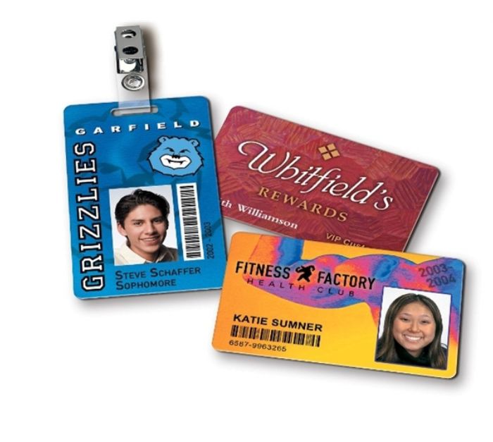high quality! PVC digital Details about  /Full color custom printed ID cards